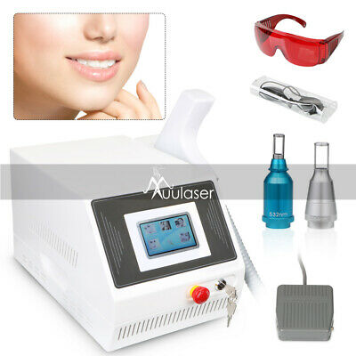 5Hz Yag Tattoo Removal Freckle Embroider Eyebrow Pigment Salon Cosmetic Machine