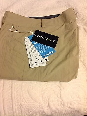 NWT Exofficio Women's Nomad Hiking Pants Size 8- Converts To Capri