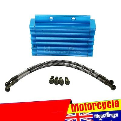 Lifan Engine Oil Cooler Kit 138/140/150cc Thumpstar Atomik Dirt Pit Bike ATV Blu