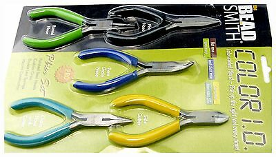 Bead Smith 5 Piece Plier Set PLSET Beading Crafts Jewellery Making