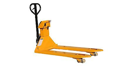 New 5500 lb/1lb Pallet Jack Scale | Pallet Truck Scale with Indicator 5000