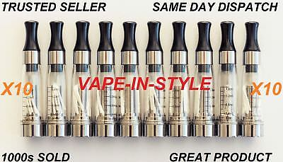 10 x  Atomizer Clearomiser Atomiser Clearomizer Cartomizers --shisha-pipe-510