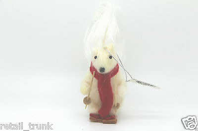 Holiday Lane Fab 3.5 Christmas Ornament Squirrel