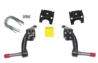 """E Z GO Golf Cart Part JAKE'S 6"""" Spindle Lift Kit 1994-2000 TXT Gas USA MADE"""