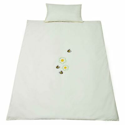 Saplings Honey Bees Duvet / Quilt And Pillow Bedding Cover Set