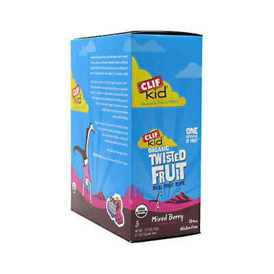 Clif Bar Kid Zfruit - Organic Mix Berry - Case Of 18 - .7 Oz