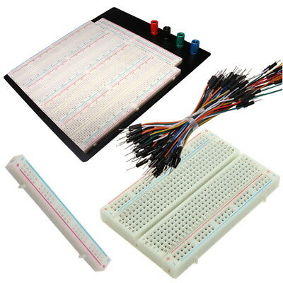 400 830 840 3220 Points Solderless Breadboard Prototype + Optional Jumper Wires
