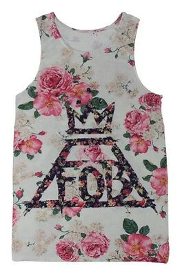 Fall Out Boy   All Over Print Tank Top Crop #V044