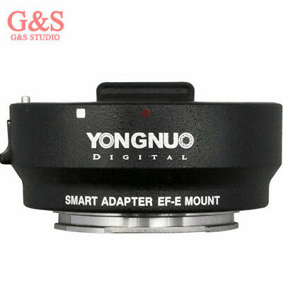 YONGNUO Smart Adapter EF-E Mount for Canon EF Lens to Sony NEX Smart Adapter