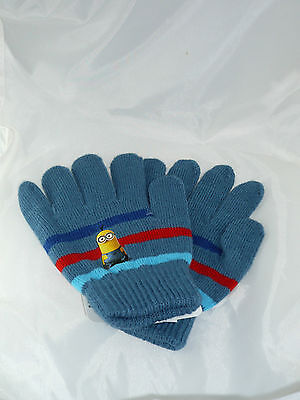 Set gants Minion, gris.