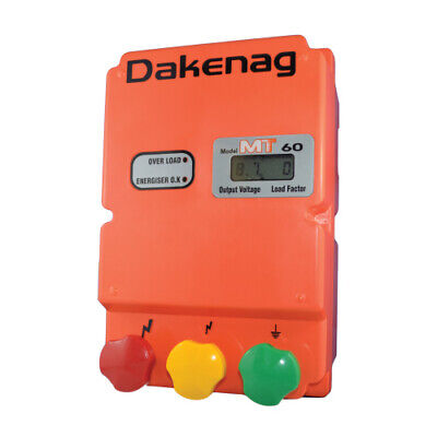 60km MAINS Electric Fence Energiser Energizer MT60 ENERGISER Farm Pet Animal