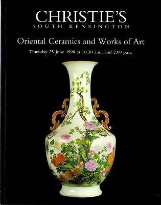 Christie's Auction Catalog: Oriental Ceramics and Works of Art June 1998 London