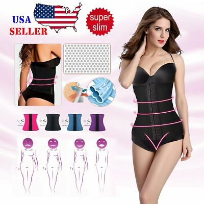 Waist Latex Rubber Waist Trainer Cincher Underbust Corset Body Shaper Shapewear