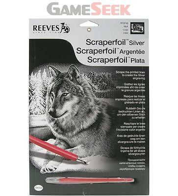 Reeves Silver Scraperfoil Kit - Wolf