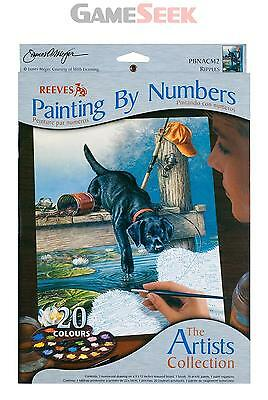 Reeves Artists Collection Medium Paint by Numbers Ripples