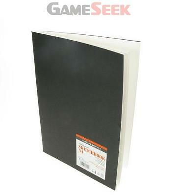 Daler Rowney A4 Graduate Sketchbook Satin Matt Black Cover