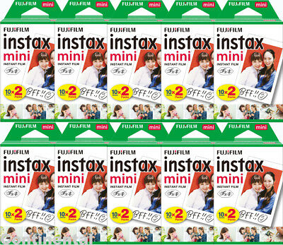 200 Prints Fujifilm Instax Mini Instant Film for Mini 9, 8, 7s & Pol 300 Camera