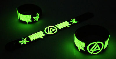 Linkin Park NEW! Glow in the Dark Rubber Bracelet Wristband Numb vg327