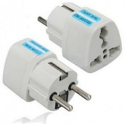 AU US UK to EU Euro Plug AC Power Socket Travel Home Charger Adapter Converter