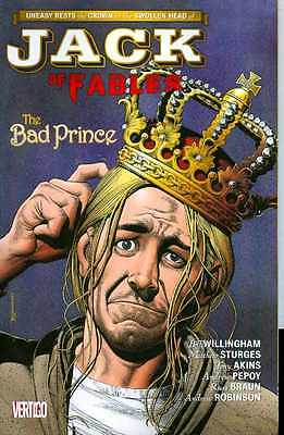 Jack of Fables Vol 3: The Bad Prince by Willingham & Pepoy TPB 2007 DC Vertigo