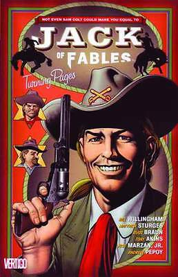 Jack of Fables Vol 5: Turning Pages by Willingham & Pepoy TPB 2008 DC Vertigo