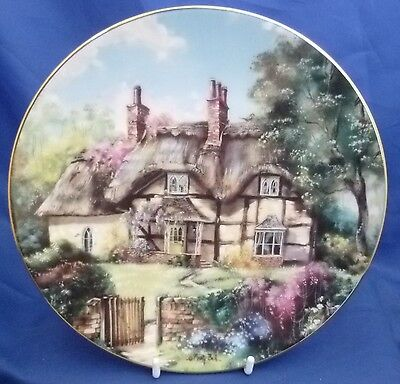 Hamilton Country Cottages Collector Plate - Ginger Cottage