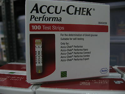 Accu-Chek Performa 100 Test Strips - Expiry: 31 May 2018 - Made in USA
