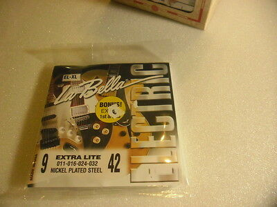 LA BELLA EL-XL Jeu cordes/ set strings guitare electric 9-42 + bonus - NEUF
