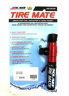 X-Lab Tire Mate Smallest CO2 Inflator and Tire Pump XLab