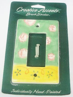 Creative Accents Porcelain Hand Painted Rocker Switch Receptacle Wall Plate