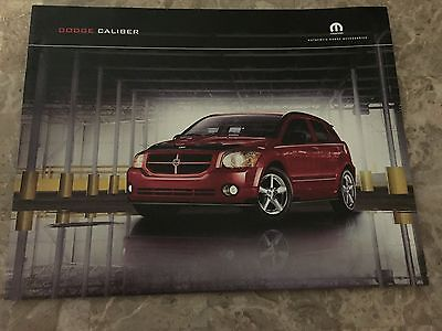 2011 Dodge Caliber Accessories 8-page Original Sales Brochure