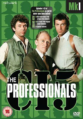THE PROFESSIONALS - Complete Series MK 1 Collection Boxset (NEW DVD)