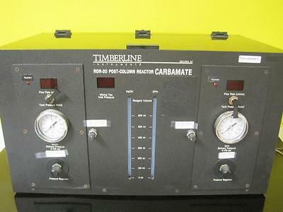 Timberline Instruments Model RDR-2D Post Column Reactor Carbamate Guaranteed