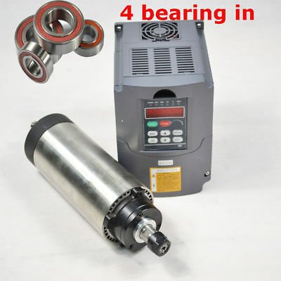 Er16 1.5Kw   Air Cooled Spindle Motor& 1.5Kw  Inverter Drive Four Bearings