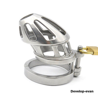 Stainless Steel Chastity Device Cage A200