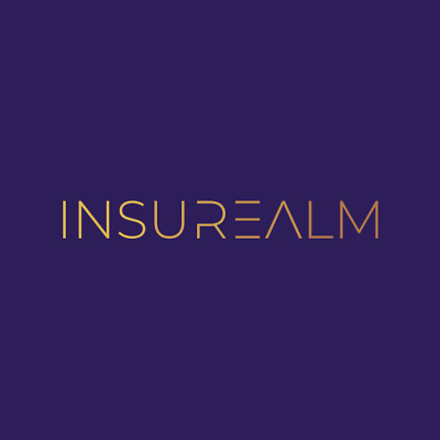 INSUREALM.com 2 WORDS Insure + Realm Brandable Domain Name for Insurance Website