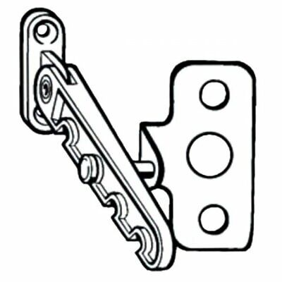 Roto 5ROT0086 Tilting Window Restrictor & Plate Child Safety for UPVC Windows