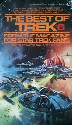 Star Trek - The Best Of Trek 6 by Walter Irwin & G.B. Love (Paperback, 1983)