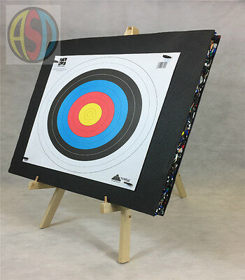 ASD Archery Target Package Includes Stand, 80cm Foam Boss, Fita Faces & Pins