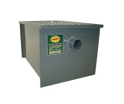 Carbon Steel Grease Traps 14 lbs of Grease , Restaurant, Commercial BBK-GT-14