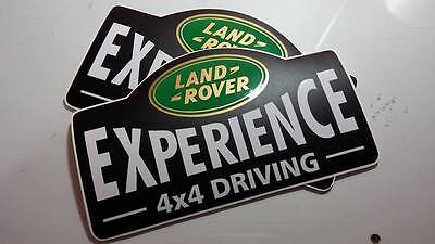 LAND ROVER DEFENDER 90/110 Aftermarket DECAL Experience Sticker SET 4x4 wing