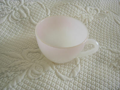 Arcopal Glass Teacup Pastel Pink
