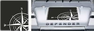 LAND ROVER DEFENDER 90 / 110 Aftermarket DECAL Bonnet Sticker SET COMPASS