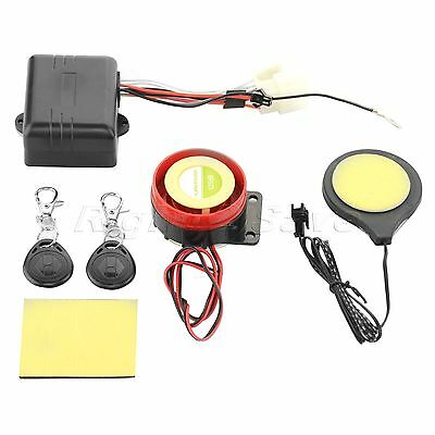 12V Motorcycle Bike IC Card Security Alarm Induction Invisible Lock Immobilizer