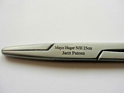 Mayo Hegar needle holder 25cm top quality surgical instruments medical grade