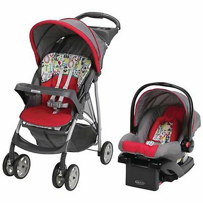 GRACO Stroller & Car Seat Travel System Infant Baby Kids Click Connect NEW