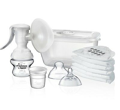 Breast Pump Tommee Tippee  Manual Closer to Nature BPA-FREE