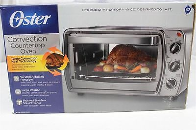 Oster Convection Countertop Oven Tssttvcg03 Reviews : Oster TSSTTVRB04 6-Slice Convection Toaster Oven, Brushed Stainless ...