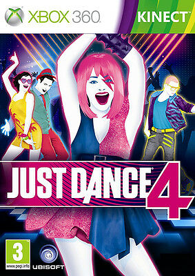 Just Dance 4 ~ XBox 360 Kinect Game (in Good Condition)