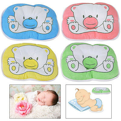 Baby Newborn Infant Sleeping Pillow Support Cushion Positioner Prevent Flat Head